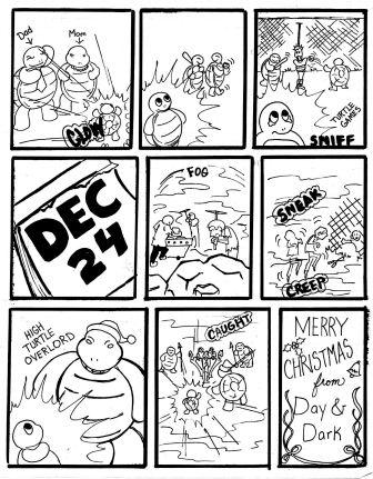 turtle christmas